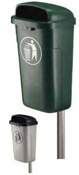 Afvalkoven voor buiten VK 750100 06
