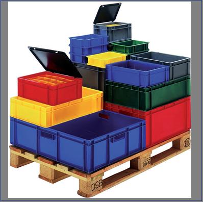 Euronom Transport Stapelbakken standaard
