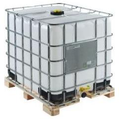 IBC Container - 1000 L op houten pallet 01