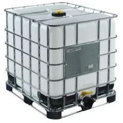 IBC Container - 1000 L op metalen pallet 01