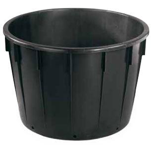 Tonnen en Kuipen met doorboorde bodem plantencontainer 01