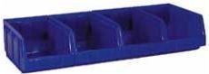 Kunststof ophanglat uitgerust met 4 x BULL 2