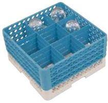 Vaatwaskorf voor glazen met voet CR0920 CR0921 CR0922 CR0923 CR0924